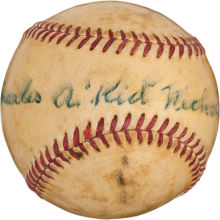 Signed Kid Nichols baseball