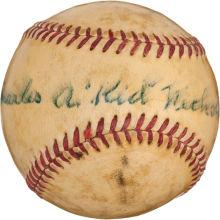 Signed Kid Nichols baseball