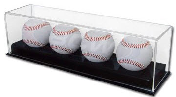 signed baseball  display case