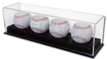 signed baseball  display case